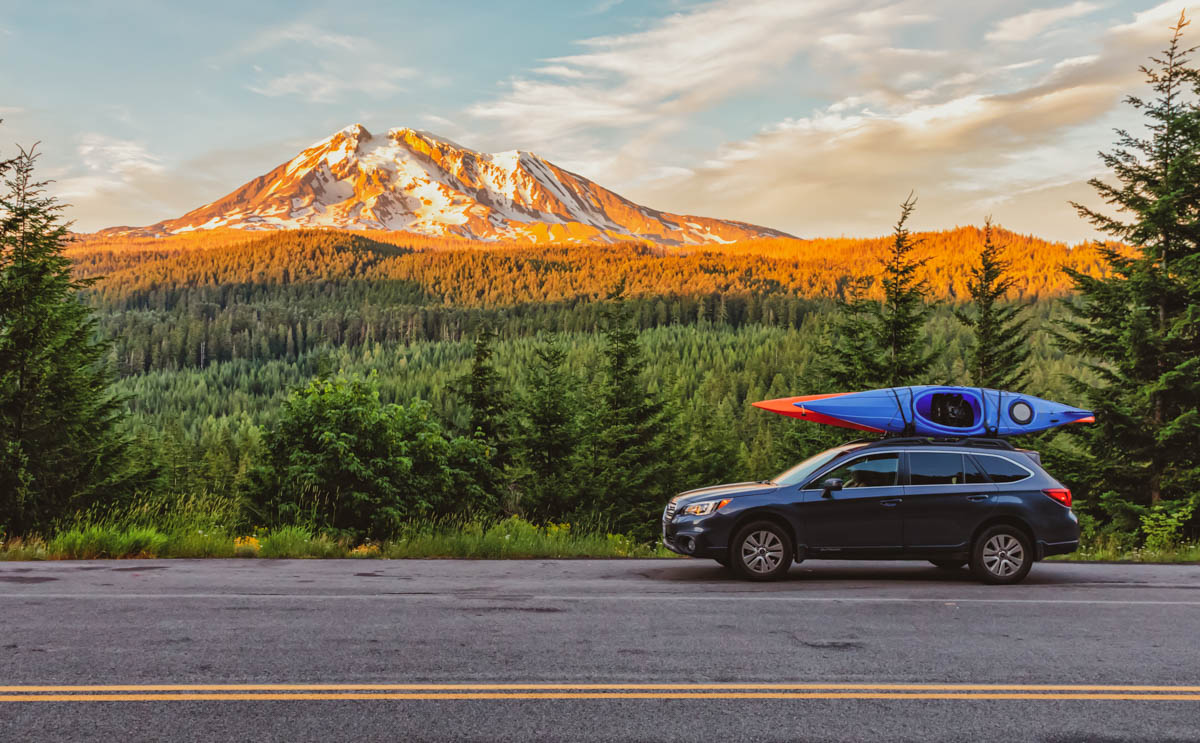 How To Tie Down A Kayak with and without a roof rack