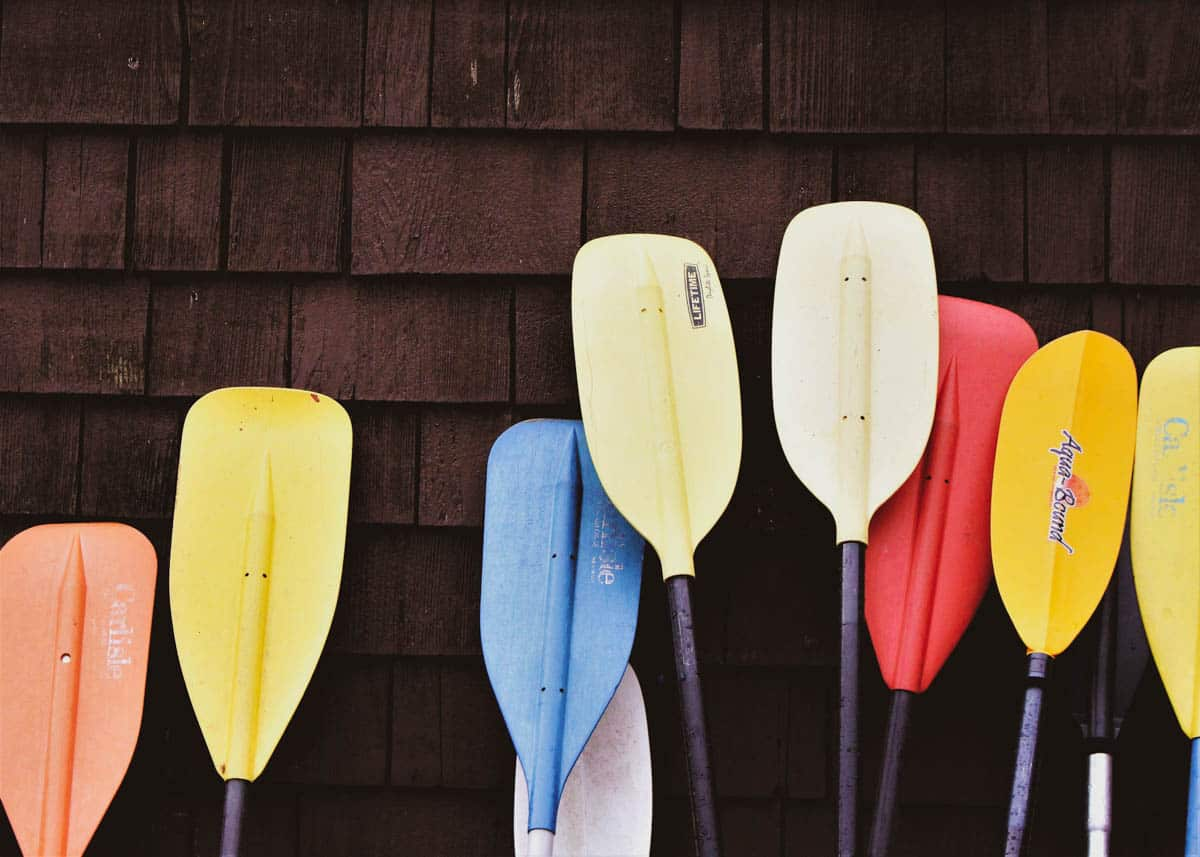 Best kayak paddle for beginners and different activities