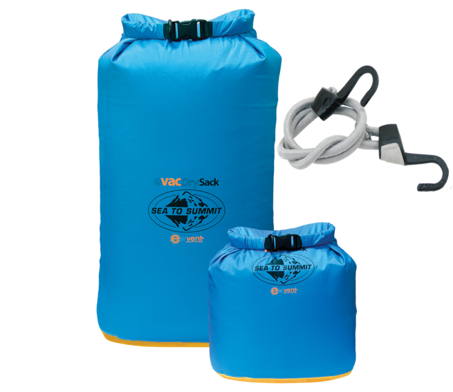 Dry Bags & Bungee Cord