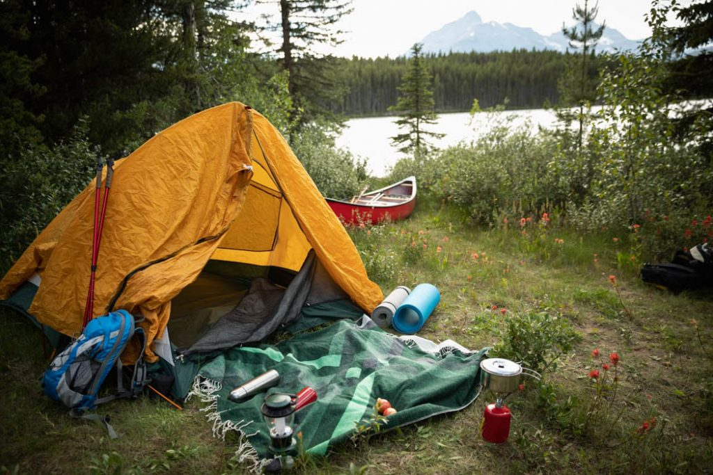 Used Tent